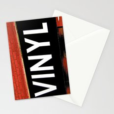 Vinyl Stationery Cards