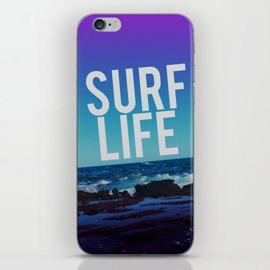 Surf Life iPhone & iPod Skin