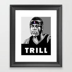 Vote Trill, Stephen Jackson 2016 Framed Art Print