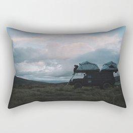 Mountain Camp, NZ Rectangular Pillow