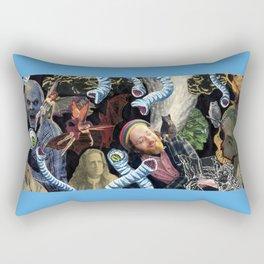 Reverie In The Thirteenth Hour Rectangular Pillow