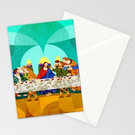 Curves - Last Supper Stationery Cards