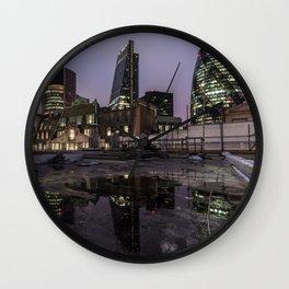 London night missions Wall Clock