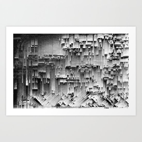 this dying city Art Print