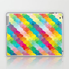 Jewel polygon pattern Laptop & iPad Skin