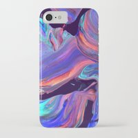 iPhone Cases featuring untitled abstract by Djuno Tomsni