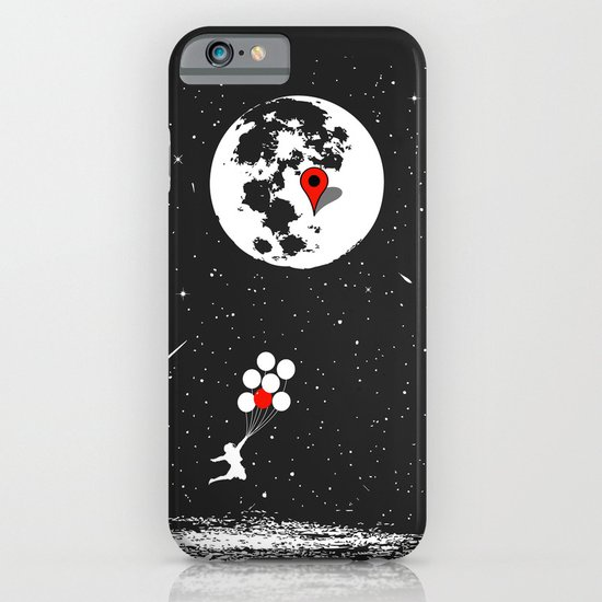 Destination Moon iPhone & iPod Case