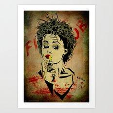 Marla Art Print