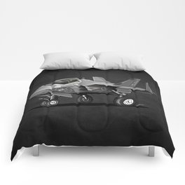 F-35C Lightning II Joint Strike Fighter Cartoon Comforters