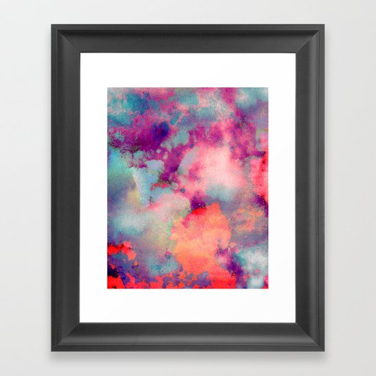 Untitled 20110625p (Cloudscape) Framed Art Print