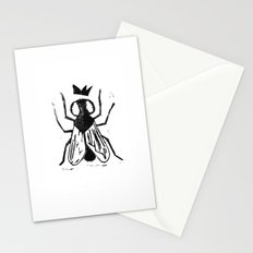 Fly Linocut Stationery Cards