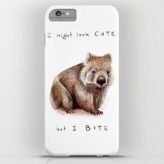 I might look cute, but I bite iPhone 6 Plus Slim Case