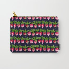 Watercolor radish seamless pattern Carry-All Pouch