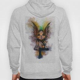 Gothic Steampunk Angel Hoody