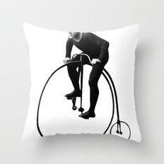 Keep Pushing Throw Pillow