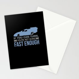 Drag Racing - Not Going Fast Enough Stationery Cards