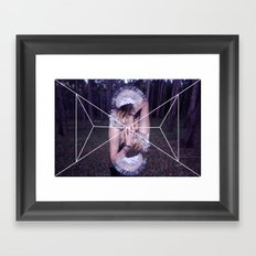intertwine Framed Art Print