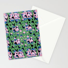 Contained Sky Flame Wings Stationery Cards