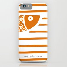 PIXE 1 (dark orange) iPhone 6s Slim Case
