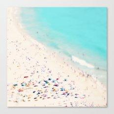 beach love III square Canvas Print