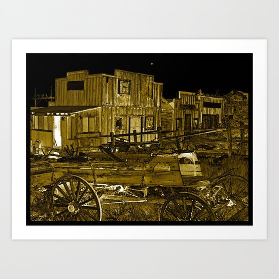 Whats left in the West Art Print