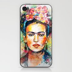 Frida Kahlo iPhone & iPod Skin