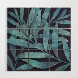 Watercolor Ferns Wood Wall Art