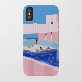 Spain Pool iPhone Case