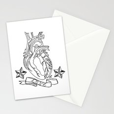 Love heart Stationery Cards