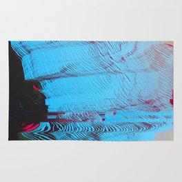 MEMORY MOSH - Glitch Art Print Rug