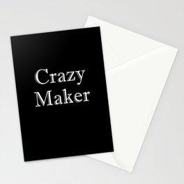 Crazy Maker Stationery Cards