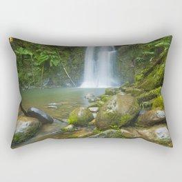 III - Rainforest waterfalls, Beauchamp Falls, Great Otway NP, Victoria, Australia Rectangular Pillow