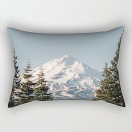 Mt Shasta Morning Rectangular Pillow