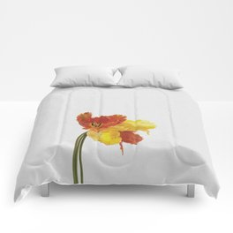 Tulip Still Life Comforters