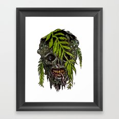 Heads of the Living Dead  Zombies: Sea Man Zombie Framed Art Print
