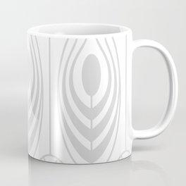 Feathers in Gray Coffee Mug