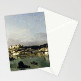 Bernardo Bellotto - View of Verona from the Ponte Nuovo Stationery Cards