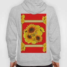 RED YELLOW SUNFLOWER BOUQUETS ART Hoody