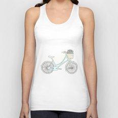Summer Bicycle Unisex Tank Top
