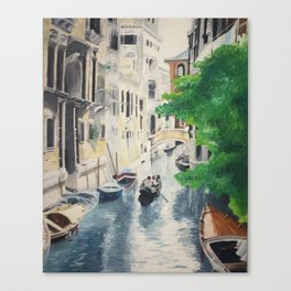 Venice digital print Canvas Print