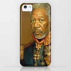 Morgan Freeman - replaceface iPhone 5c Slim Case