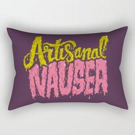 Artisanal Nausea Rectangular Pillow