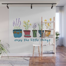 Enjoy the Little Things Wall Mural