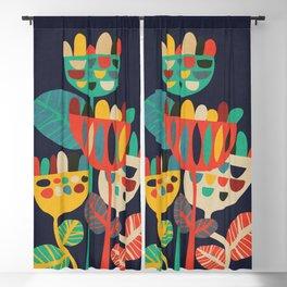 Wild Flowers Blackout Curtain