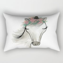 Zoey the Unicorn Rectangular Pillow