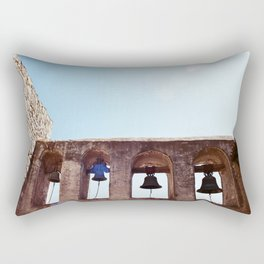 The Mission Bells Are Ringing Rectangular Pillow