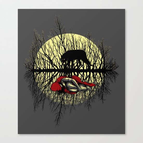 Haunting Dreams Canvas Print