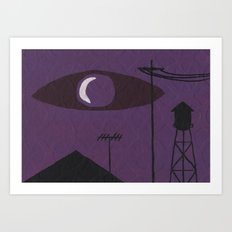 Nocturnal Valley Art Print