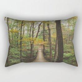 A Walk in the Woods, No. 2 Rectangular Pillow
