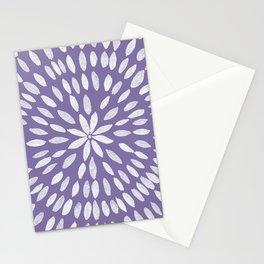 Mandala Flower #4 #UltraViolet #drawing #decor #art #society6 Stationery Cards